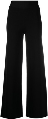 P.A.R.O.S.H. High-Waisted Wide-Leg Trousers