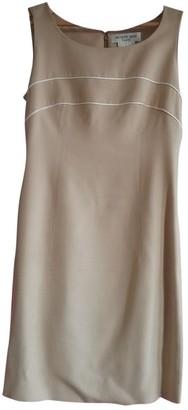 Jacques Fath Beige Dress for Women Vintage