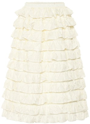 MONCLER GENIUS Exclusive to Mytheresa 4 MONCLER SIMONE ROCHA ruffled skirt
