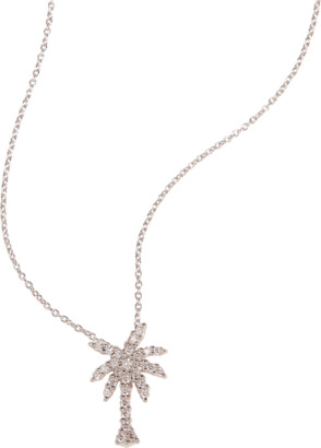 Roberto Coin Palm Tree Pendant Necklace