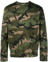 Valentino camouflage print sweatshirt - men - Viscose - S