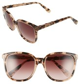 Oscar de la Renta Women's '215' 54Mm Sunglasses - Black