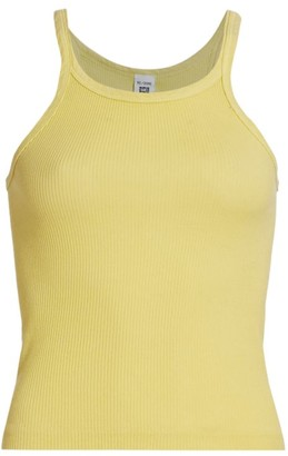 RE/DONE Ribbed Racerback Tank