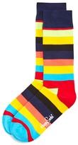 Happy Socks Men's Bright Stripe Socks