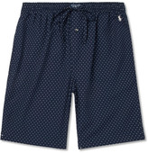 Polo Ralph Lauren Polka-dot Cotton Pyjama Shorts - Navy