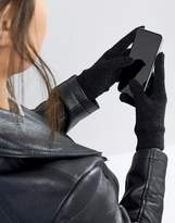 Asos Touch Screen Gloves In Black