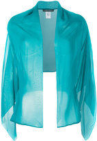 Alberta Ferretti cape - women - Silk - One Size