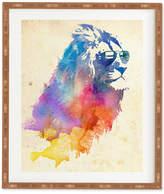 Deny Designs Robert Farkas Sunny Leo Bamboo-Framed Wall Art