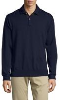 Robert Graham Tierney Wool Polo Sweater