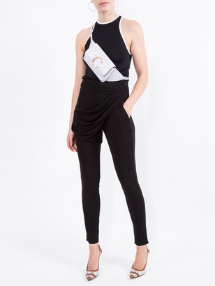 Balmain Draped Jersey Trousers
