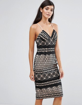 Aijek Lace Bodycon Dress