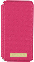 Trina Turk Iphone 7 Plus - Basket Weave Folio Fuchsia