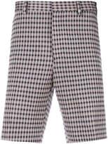 Fendi checked shorts
