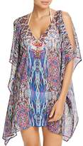Laundry by Shelli Segal Chiffon Tunic Swim Cover-Up