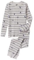 Crazy 8 Bicycle 2-Piece Pajama Set