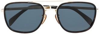 David Beckham Aviator-Frame Sunglasses