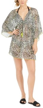 Soluna Into the Wild Printed Tunic Swim Cover-Up Women's Swimsuit