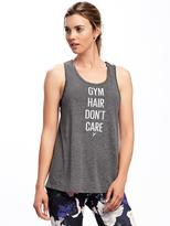Old Navy Go-Dry Graphic Twist-Back Tank for Women