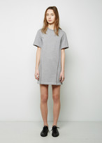 3.1 Phillip Lim Crepe de Chine Seamlines Sweatshirt Dress