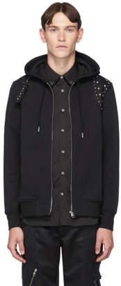 Alexander McQueen Black Harness Hoodie