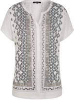 Olsen Organic cotton printed top