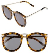 Karen Walker Women's 'Super Lunar - Arrowed By Karen' 52Mm Sunglasses - Crazy Tort/ Gold