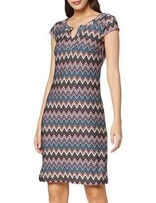 More & More Women's Kleid Von Dress, (Multicolor Black 4790), 8 (Size: 34)