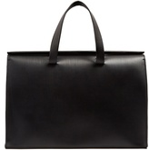AESTHER EKME Barrel leather tote