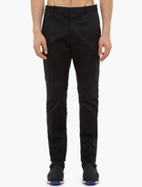 Marni Black Slim-Fit Trouser Cotton Trousers