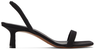 Neous Black Tulip 55mm Heeled Sandals