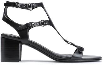 Sigerson Morrison Embellished Leather Sandals