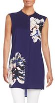 Vince Camuto Duet Floral-Print Tunic