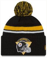 New Era Pittsburgh Steelers Diamond Stacker Knit Hat