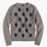 J.Crew Lambswool argyle sweater