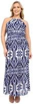 Christin Michaels Plus Size Maya Maxi Dress