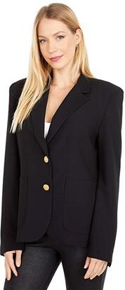 BB DAKOTA X STEVE MADDEN Inside Scoop Blazer Jacket Women's Clothing
