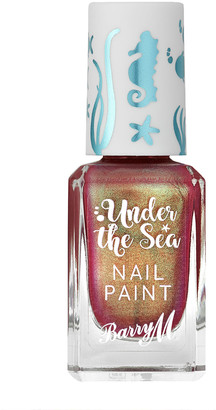 Barry M Under The Sea Nail Paint 10Ml Flame