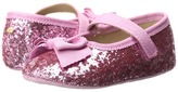 Kate Spade New York Kids Glitter Mary Jane with Bow (Infant/Toddler)