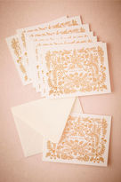 BHLDN Rose Thicket Thank You Cards (8)