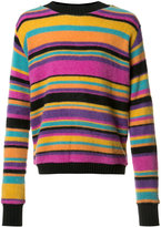 The Elder Statesman colour block jumper