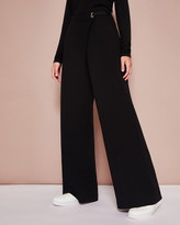 Ted Baker Wide leg wrap-around trousers