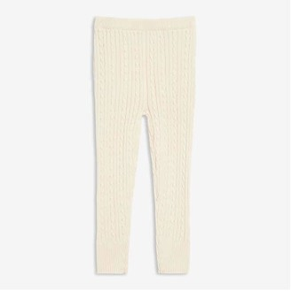 Joe Fresh Toddler Girls' Sweater Legging, Off White (Size 4)