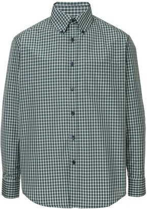 Martine Rose Checked Fitted Shirt