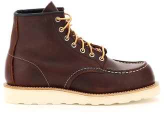 Red Wing Shoes Classic Moc Ankle Boots