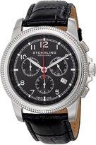 Stuhrling Original Men's 717.02 Octane Targa Courant Analog Display Chronograph Swiss Quartz Date Watch With Tachymeter