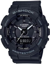 G-Shock Women's Analog-Digtal Black Resin Strap Step Tracker Watch 50mm
