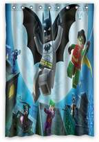 "ScottShop Custom Best Lego Batman Superheroes Shower Curtain Decoration Waterproof Polyester Fabric Bathroom Shower Curtains 48 ""x 72"" Inch"