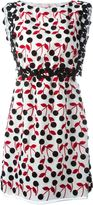 Giamba cherry print dress - women - Silk/Cotton/Polyester - 40