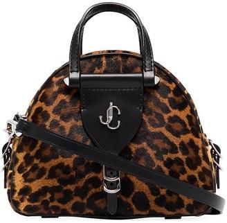 Jimmy Choo Vareene leopard-print mini bag