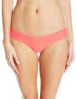 Luli Fama Women's Cosita Buena Reversible Buns Out Bikini Bottom